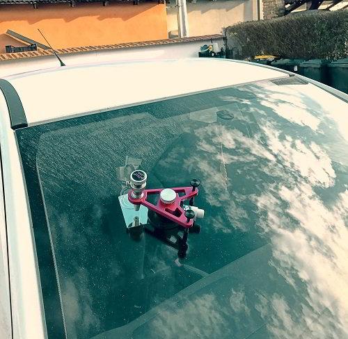 Az autóüveg javítás ideje kiemelt kép